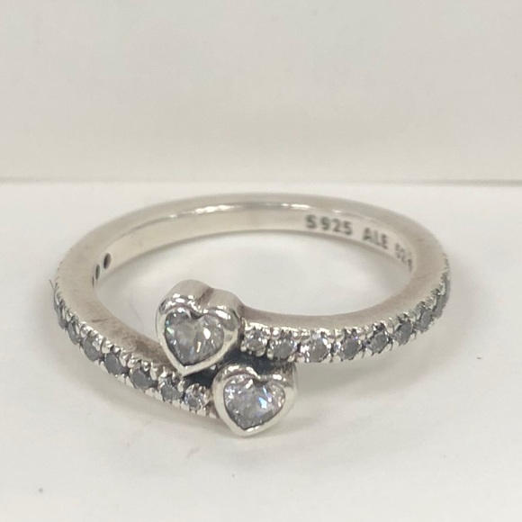 """e4ee4153494a2 SUNDAY SALE!!! Pandora """"Forever Hearts"""" Ring"""